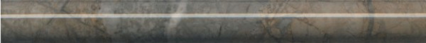 SPB007R Театро коричневый обрезной 25*2.5 бордюр