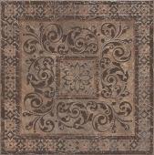 Декор Бромли коричневый 40,2*40,2