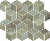 T017/14025 Джардини зеленый мозаичный 45*37.5 декор
