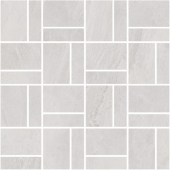 T021/DD2037 Про Слейт серый светлый мозаичный 30*30 декор