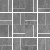 T021/DD2038 Про Слейт серый мозаичный 30*30 декор