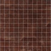 Мозаика Venezia brown полированная 30х30 см (чип 25х25х10 мм, арт. VNCP60E MOS)