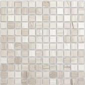 Travertino Silver полированная 23x23x7 мм (лист 29,8х29,8 см)