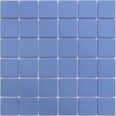 Мозаика LeeDo Abisso blu 30,5x30,5x0,6 см (чип 48x48x6 мм) из керамогранита неглазурованная с прокрасом в массе