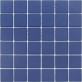 Мозаика LeeDo Abisso scuro 30,5x30,5x0,6 см (чип 48x48x6 мм) из керамогранита неглазурованная с прокрасом в массе