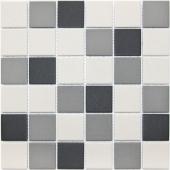 Мозаика LeeDo Equinozio 30,5x30,5x0,6 см (чип 48x48x6 мм) из керамогранита неглазурованная с прокрасом в массе