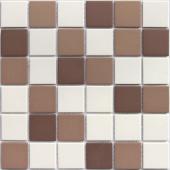 Мозаика LeeDo Marte 30,5x30,5x0,6 см (чип 48x48x6 мм) из керамогранита неглазурованная с прокрасом в массе