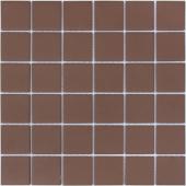 Мозаика LeeDo Nana bruna 30,5x30,5x0,6 см (чип 48x48x6 мм) из керамогранита неглазурованная с прокрасом в массе