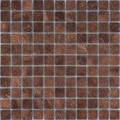 Мозаика LeeDo Venezia brown POL 29,8x29,8 см (чип 23х23х10 мм), полированный керамогранит