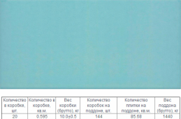 Верона Голубой 12x25 противоскользящая плитка для бассейна R11