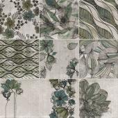 Zen Verde 20x20 см декор (Микс)