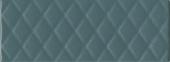 Плитка Зимний Сад зелёный структура 15*40