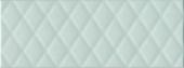 Плитка Зимний Сад зелёный светлый структура 15*40