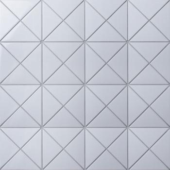 Мозаика Triangolo White Glossy 4
