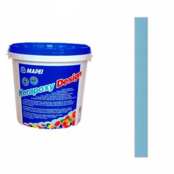 Затирка эпоксидная KERAPOXY DESIGN № 173 Синий Океан (быв. 730 Бирюзовый, Голубое небо)